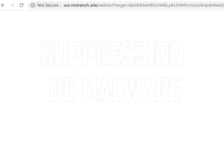Out.mctrench.site virus