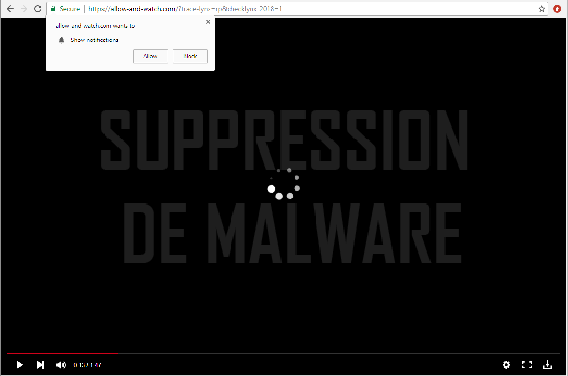 Allow-and-watch.com virus